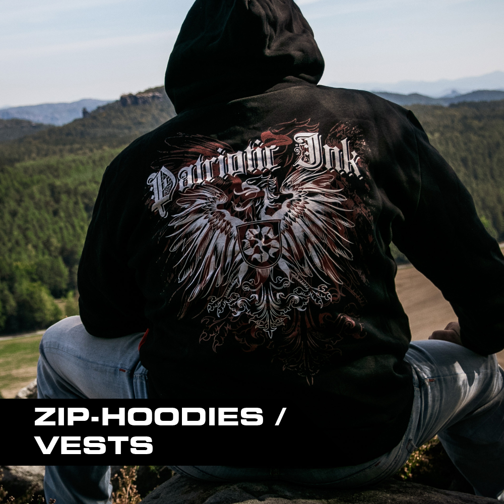 ZIP-HOODIES / VESTS
