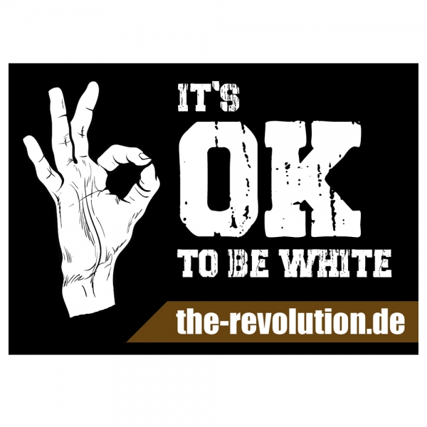 It's OK to be White (50 Stück)
