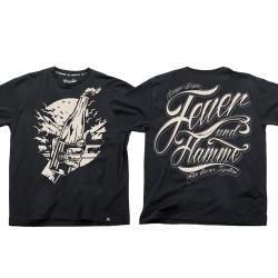 Feuer & Flamme - schwarz TS
