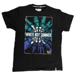 WHITE BOY SUMMER schwarz TS