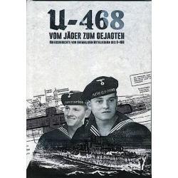 BUCH: U-468 - Vom Jäger zum Gejagten